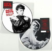 DAVID BOWIE Beauty And The Beast Vinyl Record 7 Inch Parlophone 2018 Picture Disc